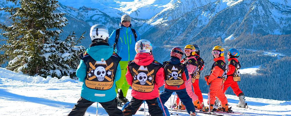 École de ski à Super besse - Evolution 2