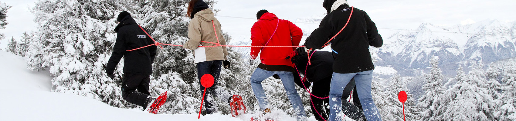 Sortie raquettes à neige à Superbesse - Evolution 2
