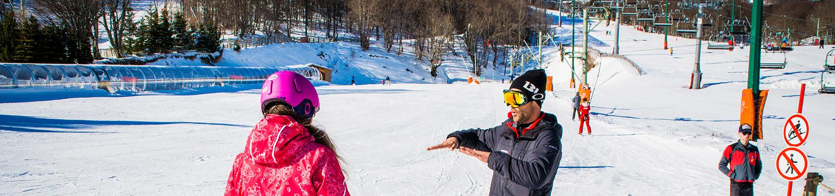 Cours de snowboard avec moniteur privé à Super besse